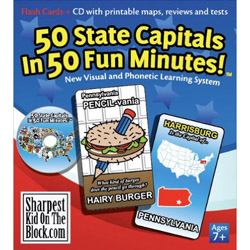 50 State Capitals Deck